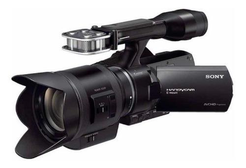 filmadora sony nex-vg30 com lente zoom motorizada 18-200mm