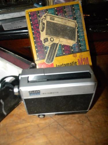 filmadora super 8 modelo kodak instamatic m24 $350 !!