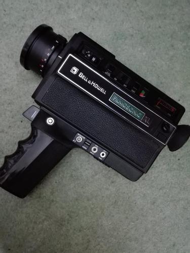 filmadora super 8 original bell & howell año 1976