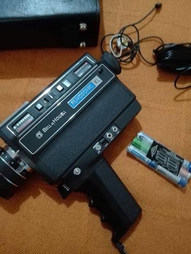 filmadora super 8mm -  bell & howell- filmosonic xl -
