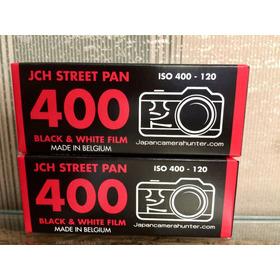 Filme 120 Jch Street Pan 400 B&w Preto E Branco 2 Unidades
