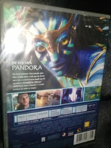 filme avatar - dvd novo/lacrado