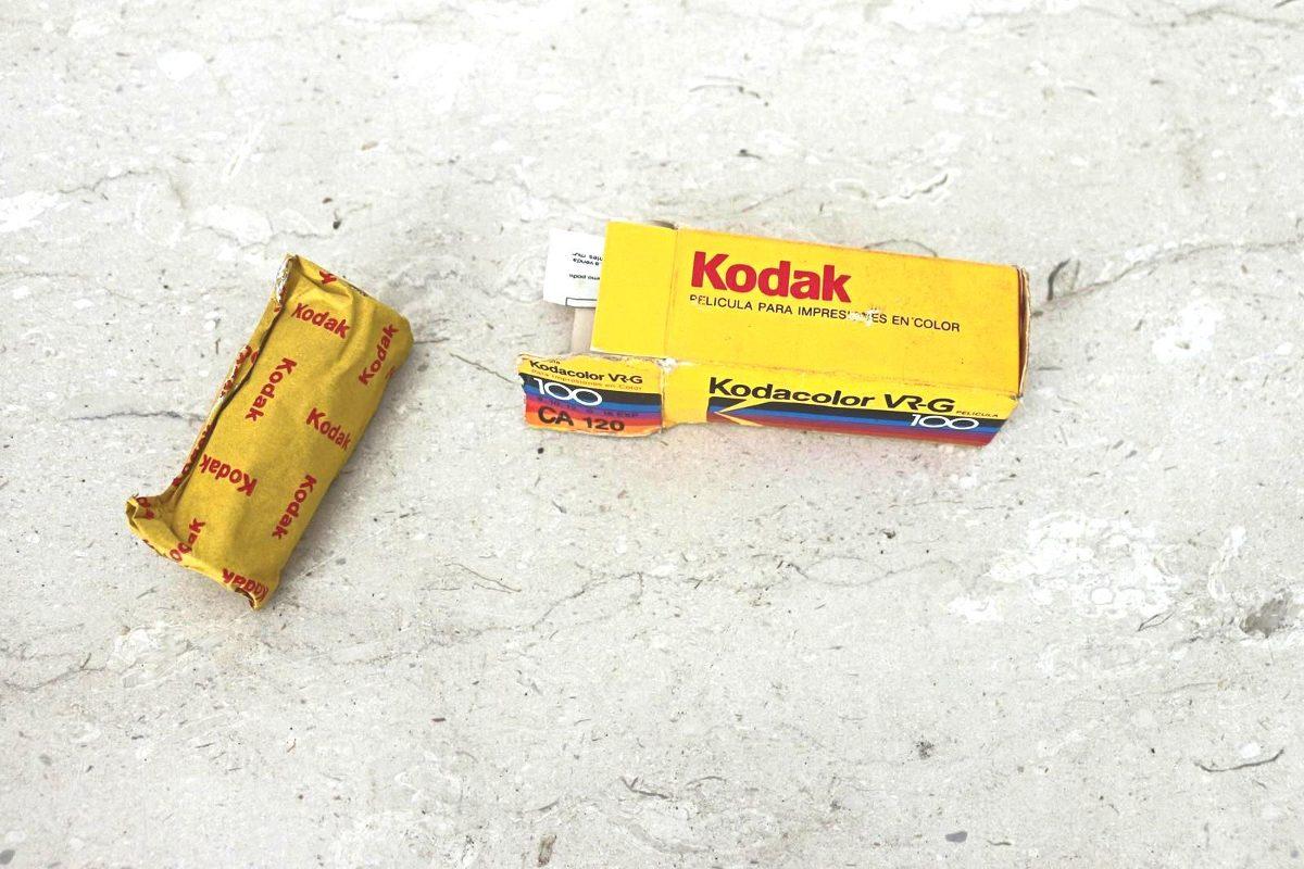 Filme Colorido Kodak Vr-g 100