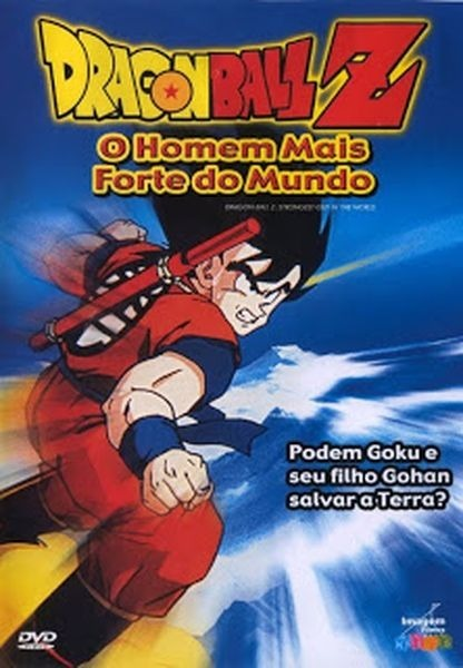 dragon ball z o homem mais forte do mundo