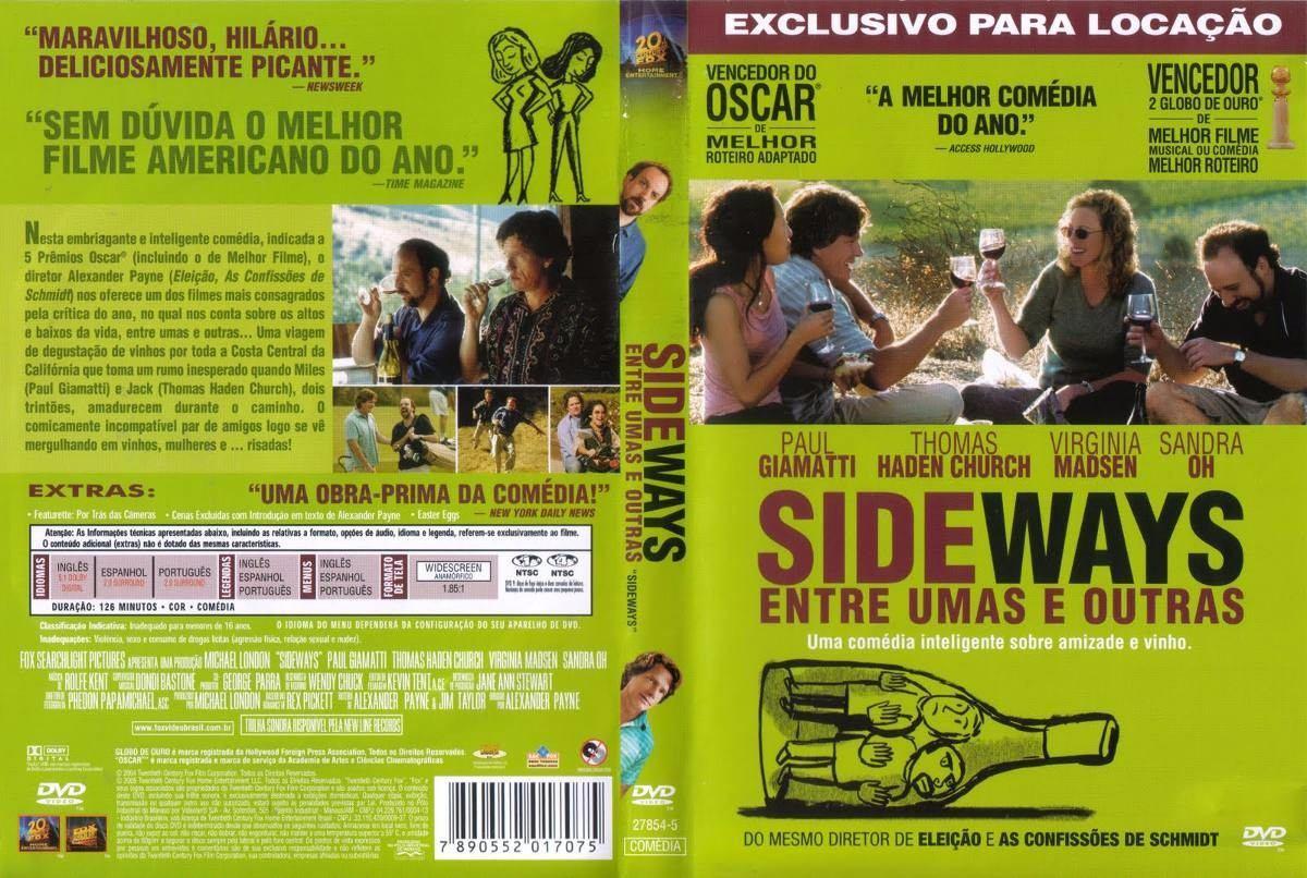 filme sideways entre umas e outras