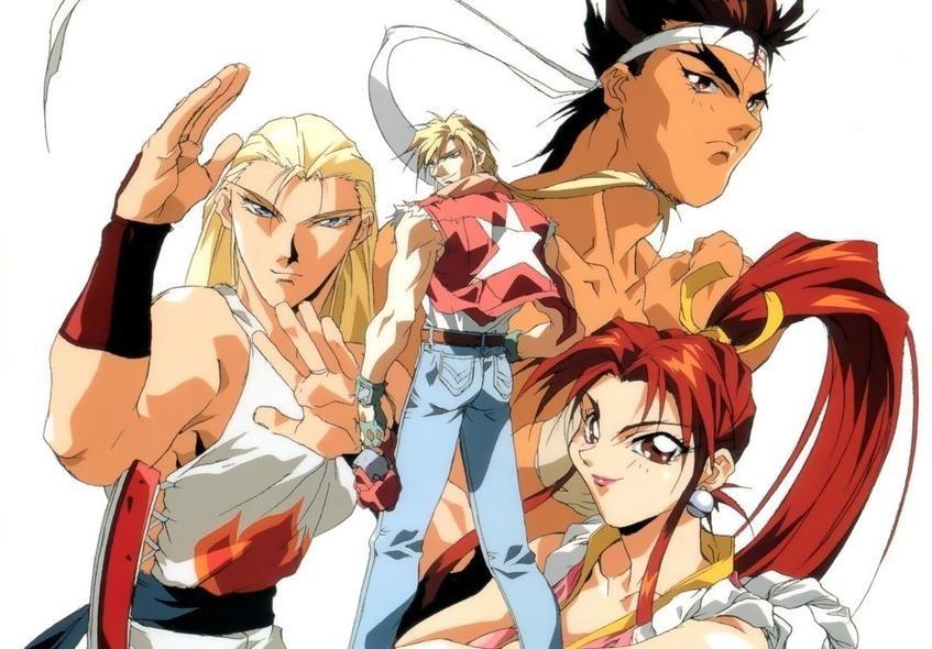 anime fatal fury