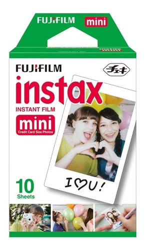 filme fujifilm instax mini todas câmeras instantânea c/ 20un