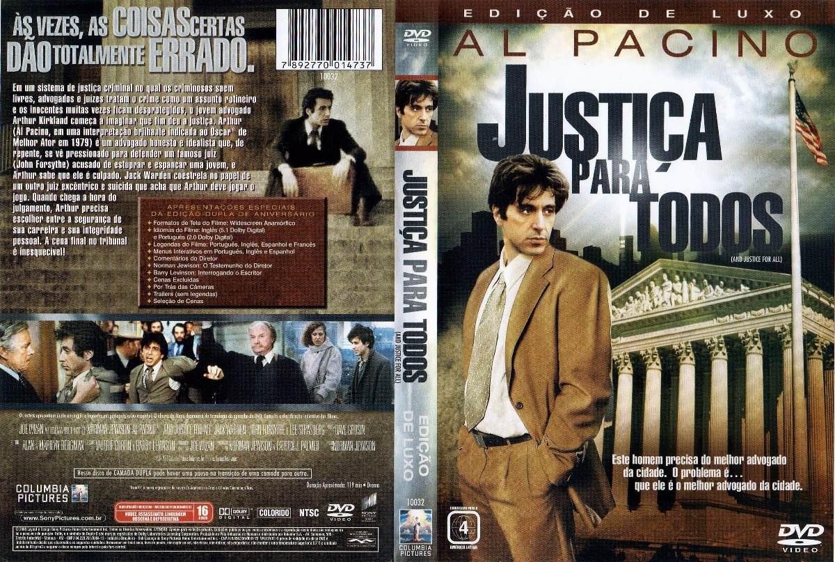 Filme Justiça Para Todos 1979 Al Pacino