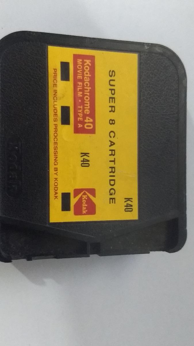 Filme Kodak Super8 Cartridge K40 Americano