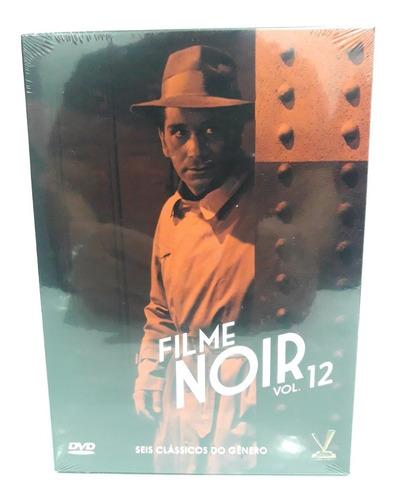filme noir volume 12 - 6 filmes - original lacrado