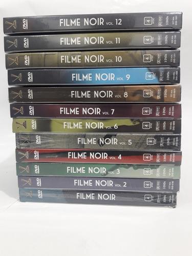 filme noir volumes 1 a 8 + 10 + 11 -60 filmes boxes  lacrado