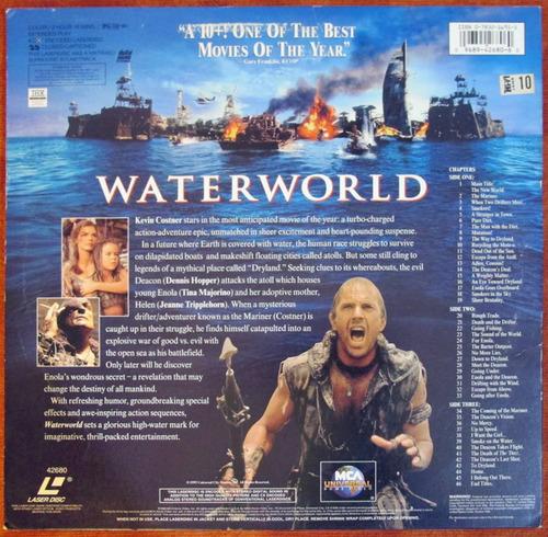 filme  o segredo das águas  (waterworld) em laserdisc duplo