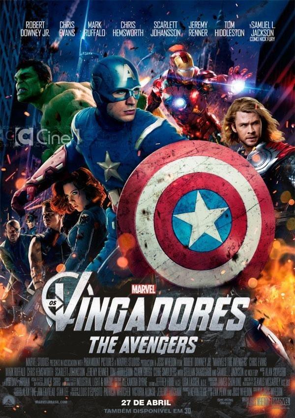 0e691da6fd6 Filme Os Vingadores 1 The Avengers Formato Digital Hd - R  10