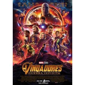 Filme Os Vingadores 3 Guerra Infinita Formato Digital Hd