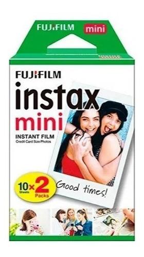 filme para instax mini 9 8 7s 90 70 pack com 20 fotos