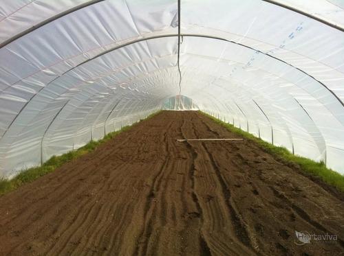 filme plastico para estufa agricola 10m x 35m - 150 micras