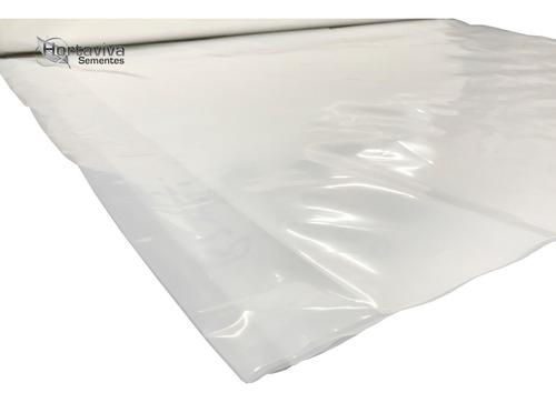 filme plastico para estufa agricola 12m x 25m - 150micras