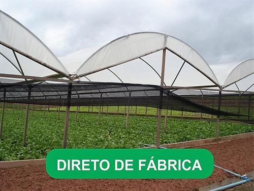 filme plástico para estufa agricola 150 micras - 12x60