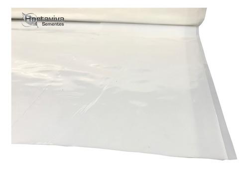 filme plastico para estufa agricola 4m x 100m - 100 micras