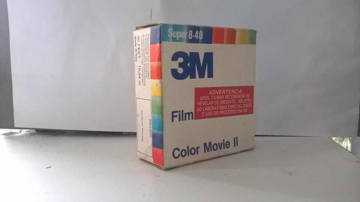 Filme Super 8 40 3m Color Movie Ll Virgem