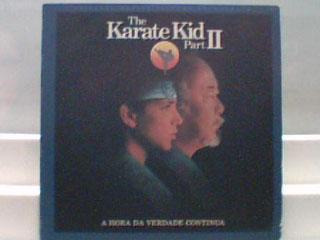 filme the karate kid part ii wb - lp records 1986