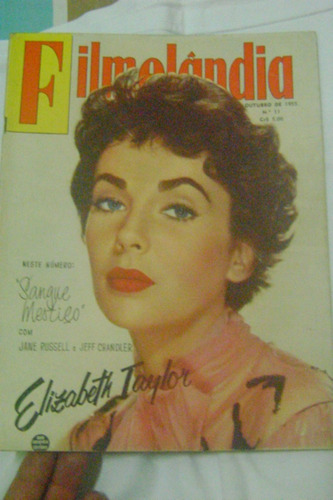 filmelândia nº11 outubro de 1955 rge linda!!rara!!leia!!