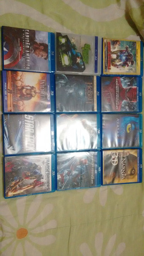 filmes em bluray 3d em excelente estado , minha coleção