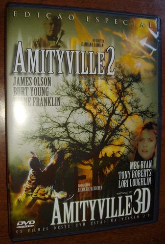 filmes terror amityville 2 e 3  anos 80 dvd