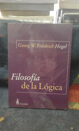 filosofia de la logica hegel