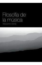 filosofía de la música(libro música)