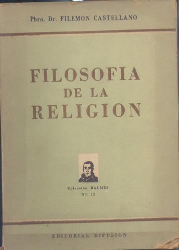 filosofía de la religión- castellano