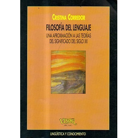 Filosofia Del Lenguaje Cristina Corredor Libreria Merlin