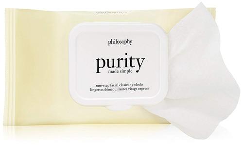 filosofía pureza made simple faciales paños de limpieza, 3