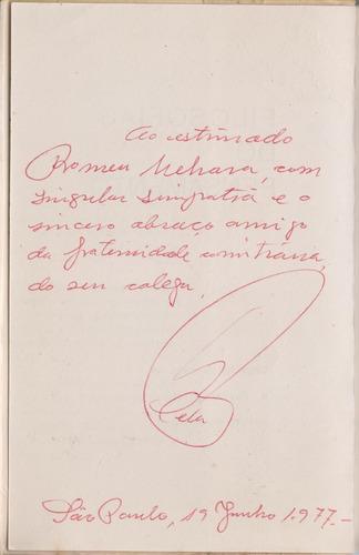 filosofias do pensamento - josé júlio c cela (autografado)