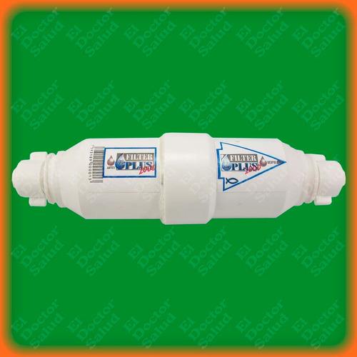 filter plus - filtro agua compacto neveras enfriadores ozono