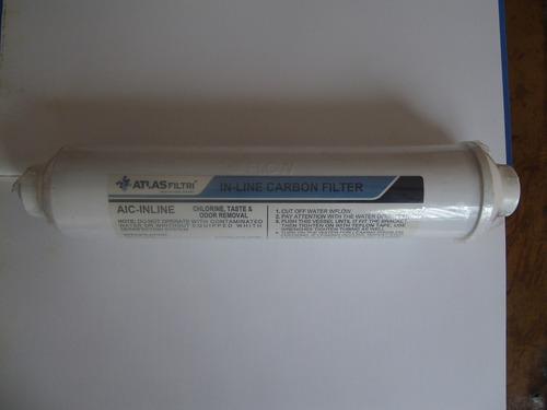 filter plus - filtro agua compacto - ozono neveras enfriador