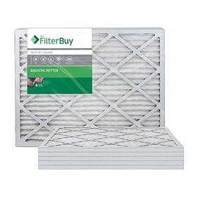 Filterbuy 24x24x1 Merv 8 Filtro De Aire De Horno Plisado, (p