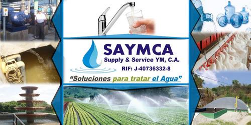filtración de agua, bombeo de agua, diseño e instalación.