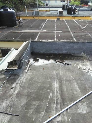 filtraciones en techos: impermeabilizantes en santo domingo