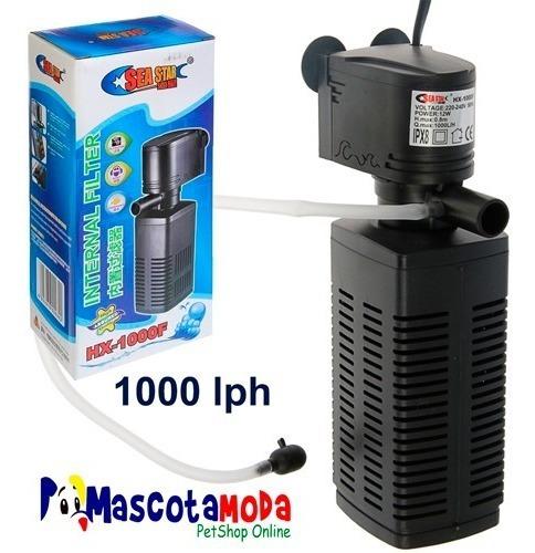 filtro 1000lph completo para acuarios grandes todo incluido