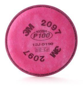 filtro 3m® 2097 y 2297 para partículas, y vapores orgánicos.