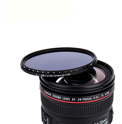 filtro 49mm nd densidad neutra variable sony canon jjc
