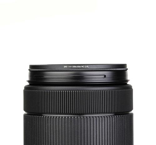 filtro 52mm polarizado cpl para lentes nikon canon jjc
