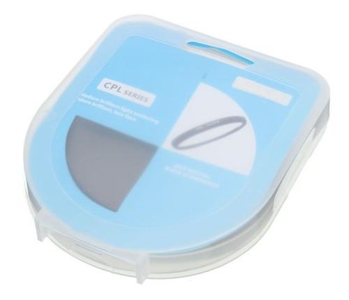filtro 55mm cpl polarizado nikon sony