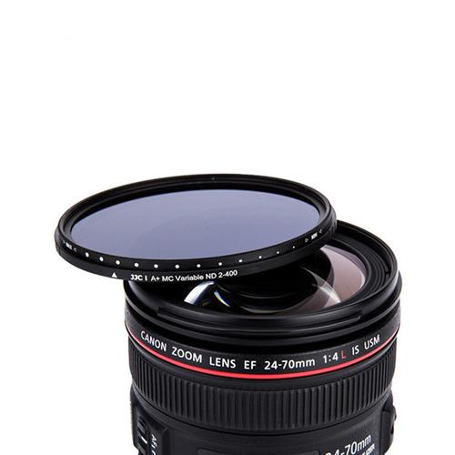 filtro 77mm nd variable  para lentes nikon canon jjc