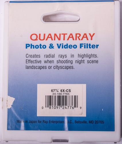 filtro 77mm uv quarantay (sigma) qmc-1a nikon canon sony