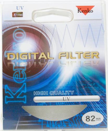 filtro 82mm uv serie (hq) - filtro ótico - kenko