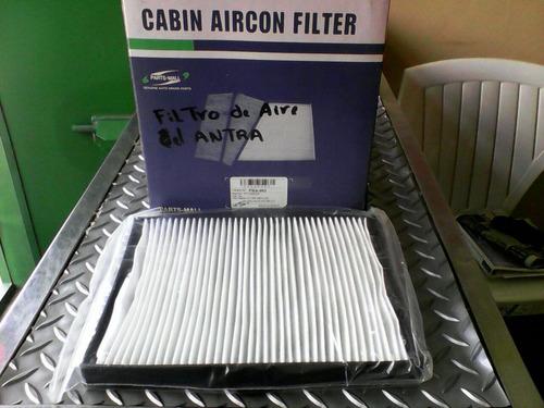 filtro a/a tablero elantra xd 2.0 2020 marca pmc/cor