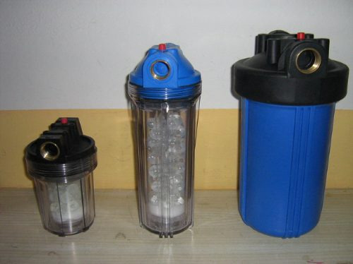 filtro ablandor de aguas y sarro gran autonomia y duración