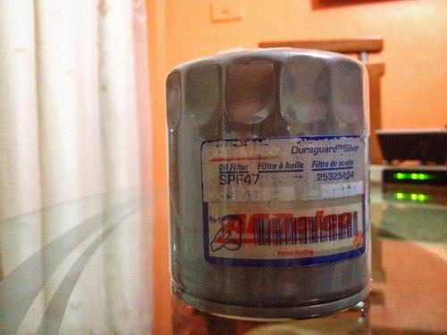 filtro acdelco pf 47 wix 51040 chevrolet optra aveo spark